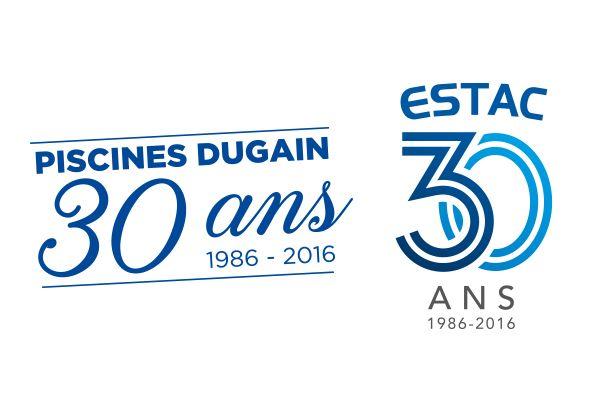 Piscines dugain official sponsor of estac in football for Piscines dugain